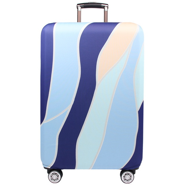Protective Luggage Cover in color Desert Sand